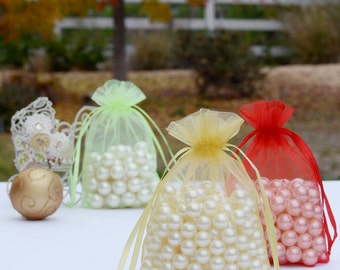 "100 pcs 4""x6"" Organza Bags Wedding Favor Bags Party Gift Bags Candy Bags Jewelry Pouch FREE Shipping Over 20 FB999"