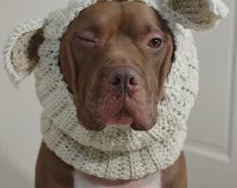 Dog Snood Lamb Crochet Made to Order