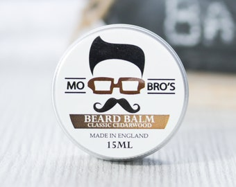Mo Bro's Classic Cedarwood Beard Conditioning Balm 15ml