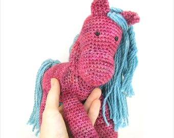Crochet Horse Pattern - Crochet Pony Pattern - Amigurumi Pattern - Crochet Pattern - PDF INSTANT DOWNLOAD