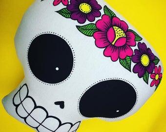 Mexican Skull Cushion
