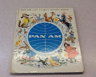 Pan Am Airline - Children's Jet Flight Story Book - Little Red Riding Hood