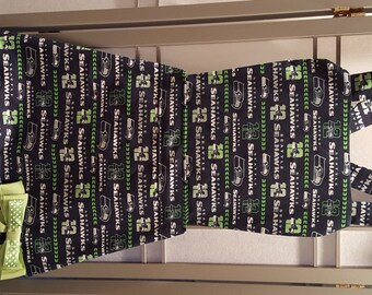 SEAHAWK APRON with Tiered Ruffle Front
