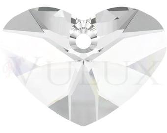 Wholesale Swarovski Crazy 4 U Heart 6260 - 37 MM Crystal (001)