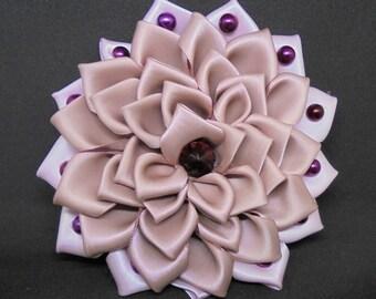 Stunning Hand-Made Kanzashi Hair Ornament