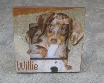 Pet Memorial Frame, Personalized Pet Memorial Picture Frame, Custom Cat Frame, Unique Keepsake Gift