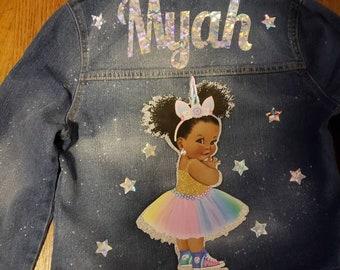 Customized Jean Jacket