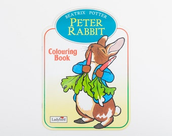Peter Rabbit Colouring Book - Vintage Ladybird Colouring Book, 1992, Beatrix Potter
