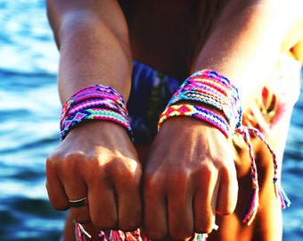 Beach Bandit Friendship Bracelet.