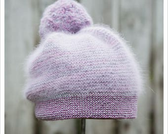 HAT KNITTING PATTERN - Lil' Cottontail