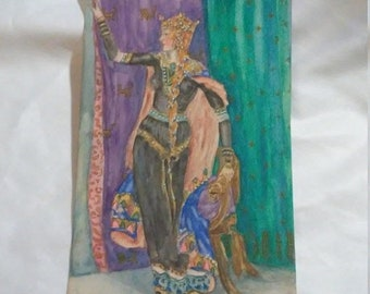 Spring Sale Vintage Costume Art from the Snow Queen? Ballet