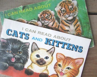 Baby Animal Picture Book Cats and Kittens I Can Read About Book Set