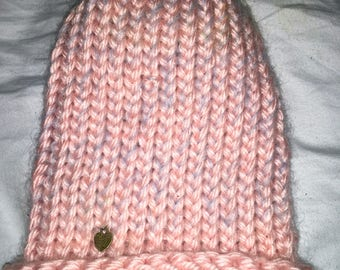 Cashmere and acrylic blend skull cap