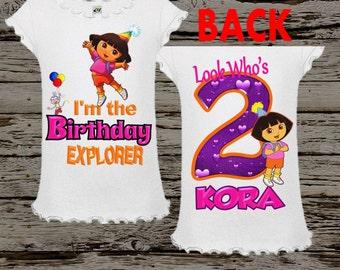 Dora Birthday Shirt - Dora Shirt