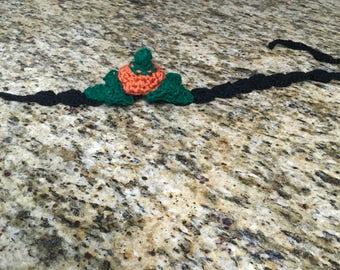 pumpkin head band