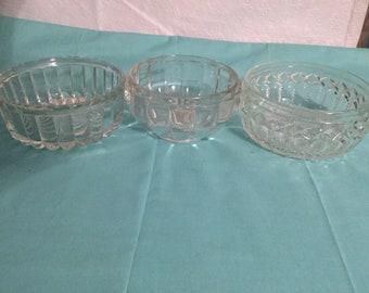 Vintage  odd and end bowls