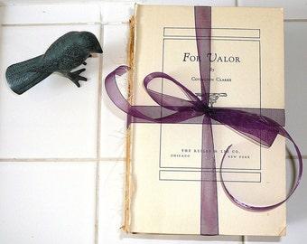SHABBY CHIC mariage Decor décoration chalet maison livre Bundle en détresse livres décor rustique