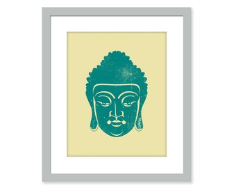 BUDDHA unframed art print wall decor buddha wall art