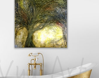 Oil Painting painting original painting oil impasto art all decor landscape painting office art modern art abstract modern abstract wall