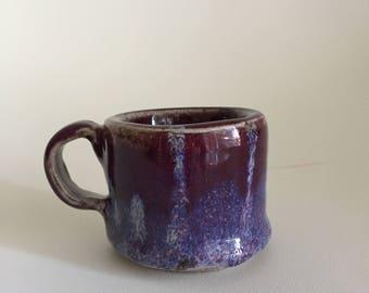Tiny Blue and Purple Mug