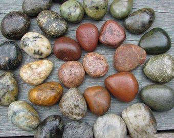 BEACH Stone Cabinet Knobs Stone Drawer Pulls  CUSTOM ORDERS w/ Stone Enhancer