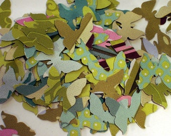 Paper Confetti Funfetti Die Cut   Butterfly  in  Sola