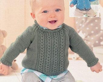 8b98f8879da97 Sweater Knitting Pattern Leaflet Sirdar 1415 Snuggly DK