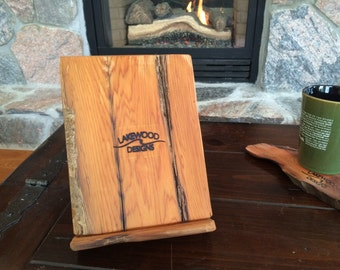 Wood Tablet Holder made out of Driftwood