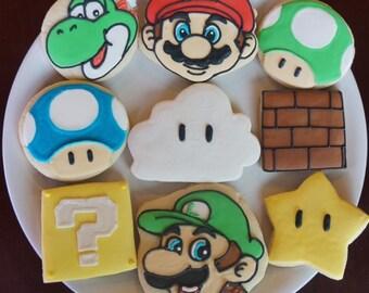 Super Mario Bros. Cookies / One Dozen
