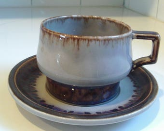 Vintage B&G Bing and Grondahl Mexico 475 Cup and Saucer Copenhagen Porcelain Made in Denmark