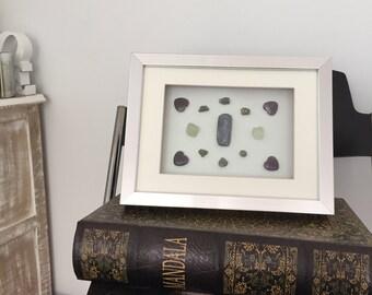 ALIGNED II Crystal Grid Kyanite Fluorite Amethyst Pyrite Heart Mandala Chakra Healing