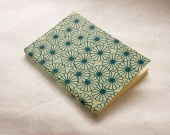 Notebook paper cream Nepalese A6 size