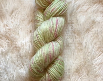 """Hand-dyed """"Spring Forward"""" 100% wool worsted yarn MombieLand"""