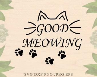 Cat svg Cat lady svg Meow svg Valentines day Cat Eps Cat lovers svg Dxf Girl svg Cricut downloads Cricut files Silhouette files Silhouette