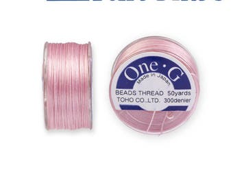 Reel 46 m One - G (Toho) 0.25 mm PINK wire