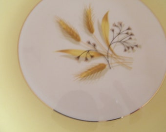 Autumn Gold Luncheon Plates (Set of 8)