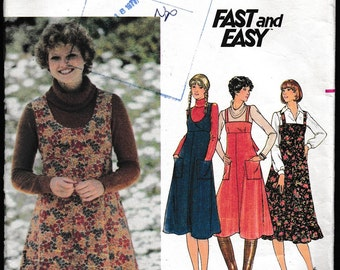 Butterick 5546 Fast and Easy Misses' Jumper