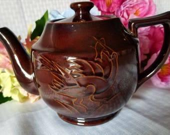 Vintage Post World War II Teapot Made in Occupied Japan