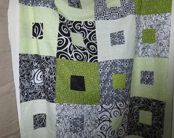 Unfinished Quilt Top Throw Sized