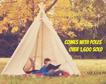 Large Teepee (6ft) with POLES