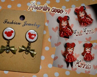NEW COLLECTION earrings Disney Minnie