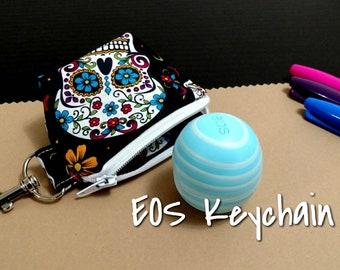 EOS Lip Balm Keychain Sugar Skulls
