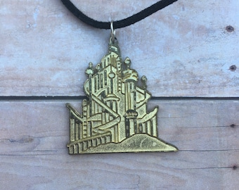 King Tritons Castle Necklace