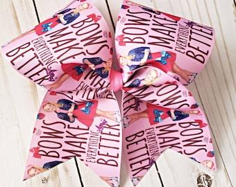 Jojo Siwa bows make everything better - bows - hair -girls bows - love bows - big bows- large bows -pink
