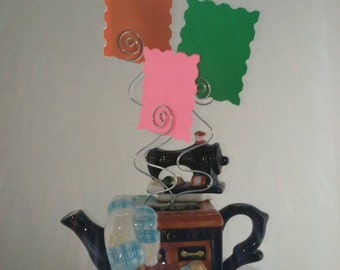 Beautiful Wire Photo Holder Display, Memo Holder, Message Holder, Card Holder, Scripture Holder, Wire Frame Holder