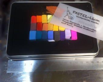 Pastel_läon Starter Set 24 colors in a tin box