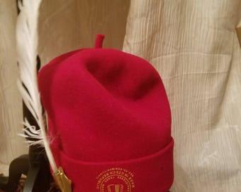 Quality Okpu Ndi Nze/ High Chief Cap/ Double Chief Traditional Hat/ Titled Men Hat/Indigenous B. Cap