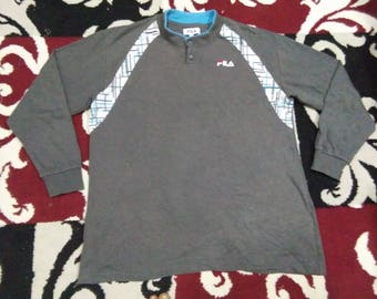 vintage FILA T SHIRT long sleeve size L