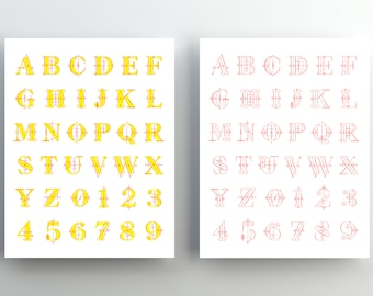 36 Days of Type Screenprint Poster