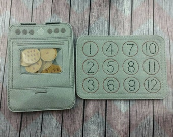 Cookie Oven Counting Game, Learning Game